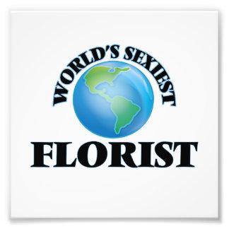 World's Sexiest Florist Photograph