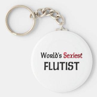 World's Sexiest Flutist Keychain