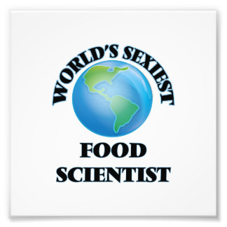 World's Sexiest Food Scientist Photograph