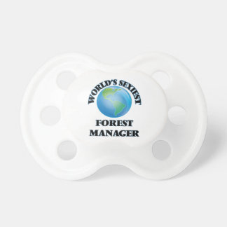 World's Sexiest Forest Manager Baby Pacifiers