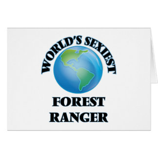World's Sexiest Forest Ranger Cards