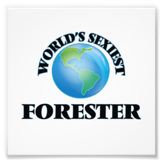 World's Sexiest Forester Photo Print