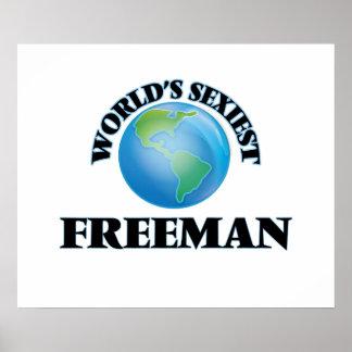 World's Sexiest Freeman Poster