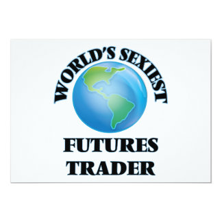 World's Sexiest Futures Trader Custom Invitations