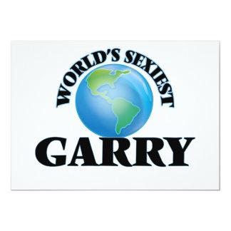World's Sexiest Garry 5x7 Paper Invitation Card