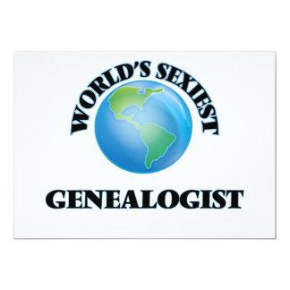 World's Sexiest Genealogist Custom Invitations