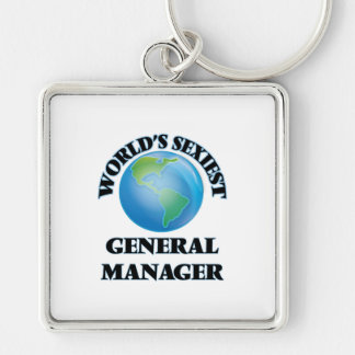 World's Sexiest General Manager Keychain