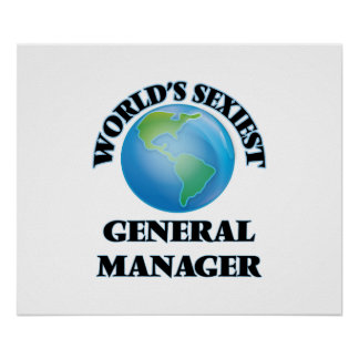 World's Sexiest General Manager Poster