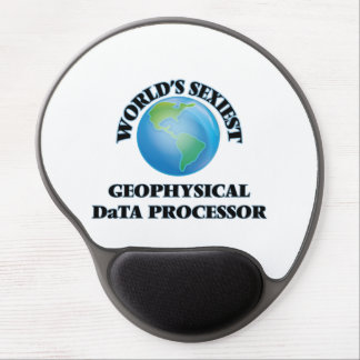 World's Sexiest Geophysical Data Processor Gel Mouse Pad