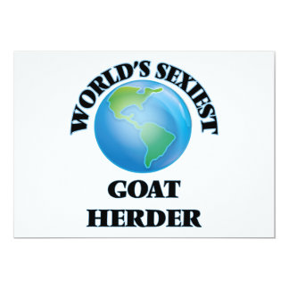 World's Sexiest Goat Herder Personalized Invites