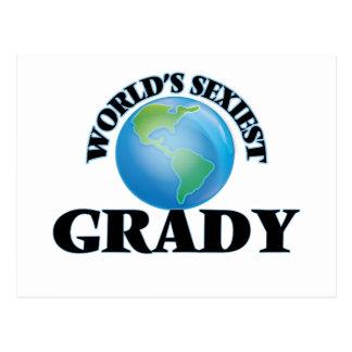 World's Sexiest Grady Postcard