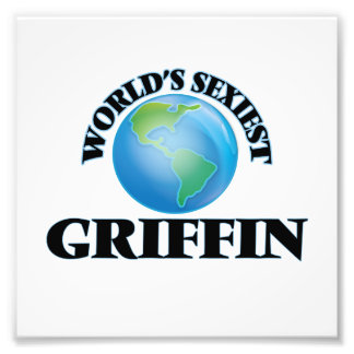 World's Sexiest Griffin Photo Print