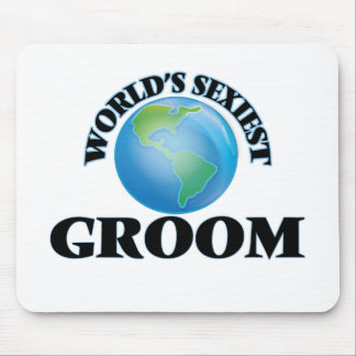World's Sexiest Groom Mouse Pad