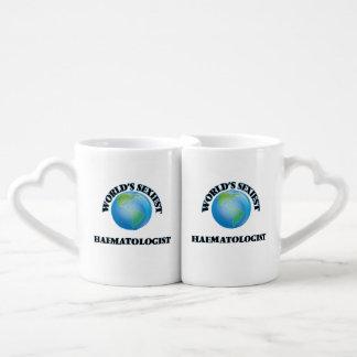 World's Sexiest Haematologist Couples' Coffee Mug Set