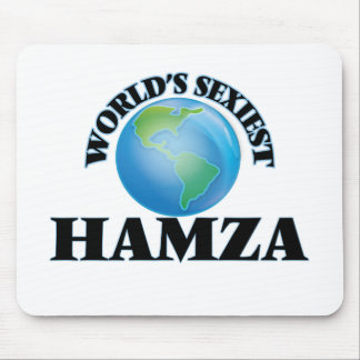 World's Sexiest Hamza Mouse Pad