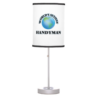 World's Sexiest Handyman Desk Lamps