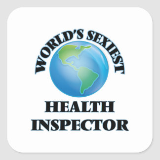 World's Sexiest Health Inspector Sticker