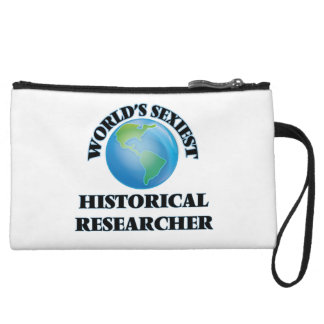 World's Sexiest Historical Researcher Wristlet Clutches