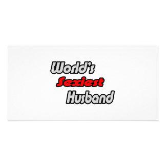 World's Sexiest Husband Customized Photo Card