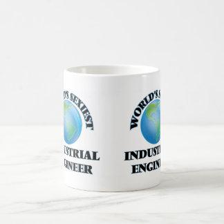 World's Sexiest Industrial Engineer Classic White Coffee Mug