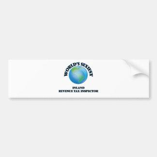 World's Sexiest Inland Revenue Tax Inspector Car Bumper Sticker