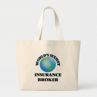 World's Sexiest Insurance Broker Tote Bag