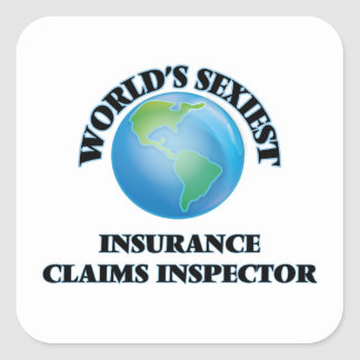 World's Sexiest Insurance Claims Inspector Stickers