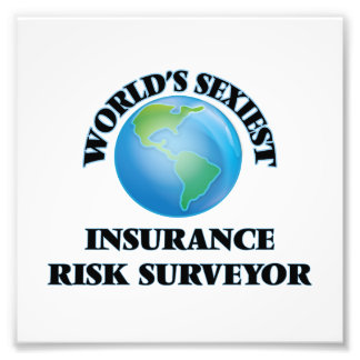 World's Sexiest Insurance Risk Surveyor Art Photo