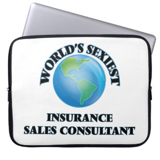 World's Sexiest Insurance Sales Consultant Laptop Sleeve
