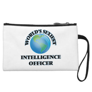World's Sexiest Intelligence Officer Wristlet Clutches