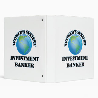 World's Sexiest Investment Banker Binders