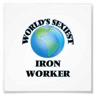 World's Sexiest Iron Worker Photo Print