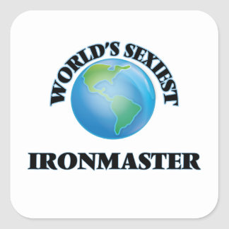 World's Sexiest Ironmaster Stickers