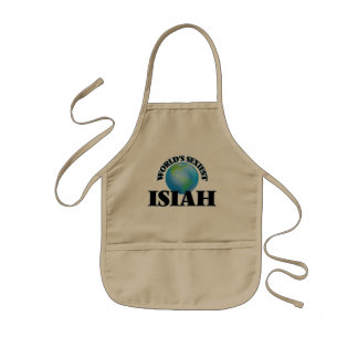 World's Sexiest Isiah Kids' Apron