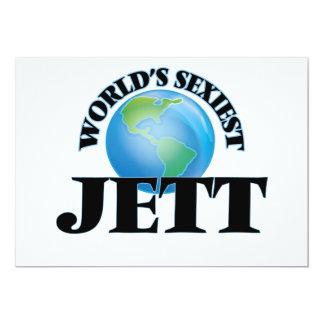 World's Sexiest Jett 5x7 Paper Invitation Card