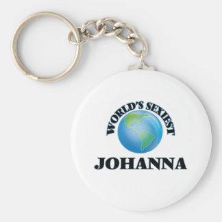 World's Sexiest Johanna Keychains