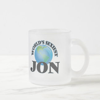 World's Sexiest Jon Mugs