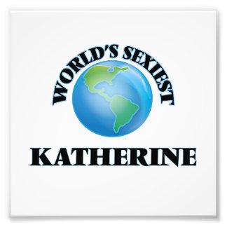 World's Sexiest Katherine Photographic Print