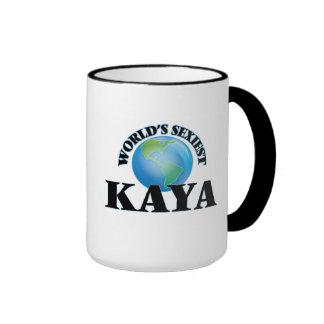 World's Sexiest Kaya Ringer Coffee Mug