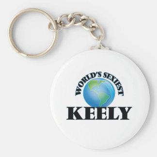 World's Sexiest Keely Keychain