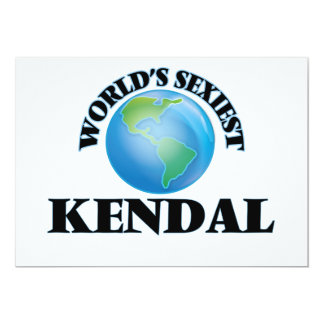 World's Sexiest Kendal Cards