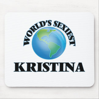 World's Sexiest Kristina Mouse Pad