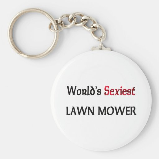 World's Sexiest Lawn Mower Key Chains