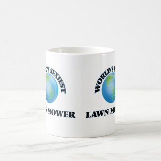 World's Sexiest Lawn Mower Classic White Coffee Mug