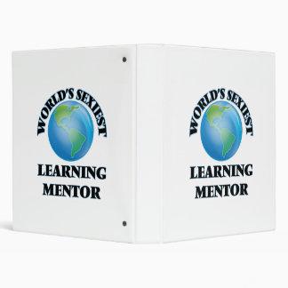 World's Sexiest Learning Mentor Vinyl Binders