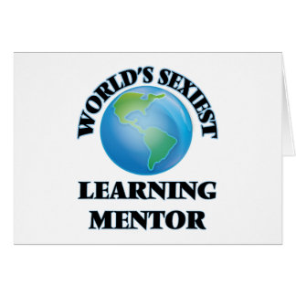 World's Sexiest Learning Mentor Stationery Note Card