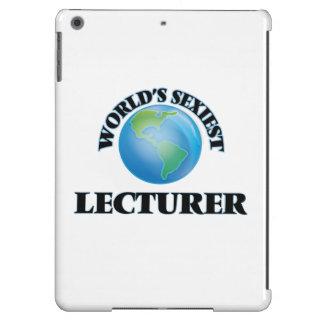 World's Sexiest Lecturer iPad Air Cover
