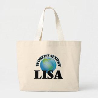 World's Sexiest Lisa Canvas Bag
