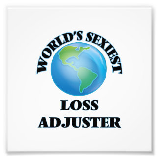 World's Sexiest Loss Adjuster Photograph