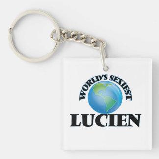 World's Sexiest Lucien Acrylic Key Chains
